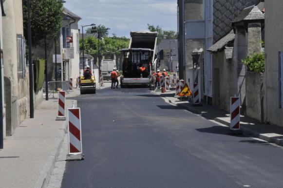 la rue principale va etre reouverte